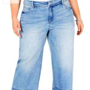 I.N.C. Culotte Jeans NWT